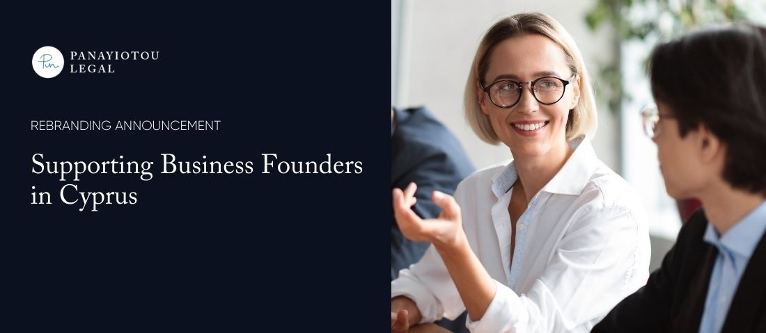 Panayiotou Legal Rebrands to Support Business Founders in Cyprus