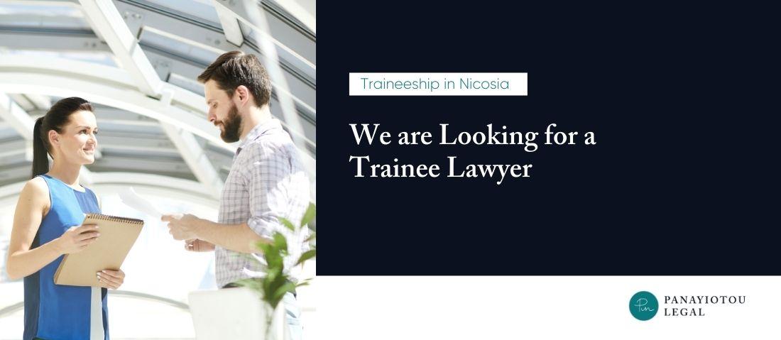 trainee lawyer nicosia